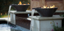 Fire Water Feature